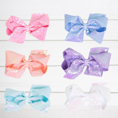 Fairy Dust Sequin Bow