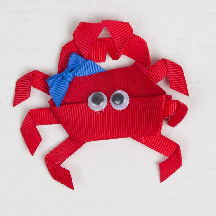 Happy Crab Hair Clip