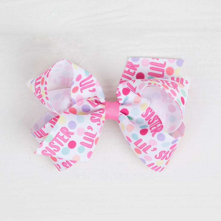Medium Lil' Sister Grosgrain Bow