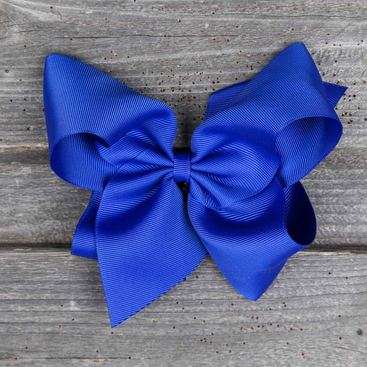 Medium Royal Blue Bow
