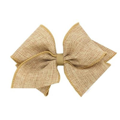Mini King Toffee Burlap Bow