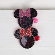 Mouse Ear Glitter Shaker Hair Clip