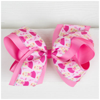Princess Dreams Bow Pink