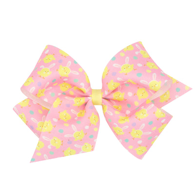 Sweet Chick Grosgrain Bow Pink