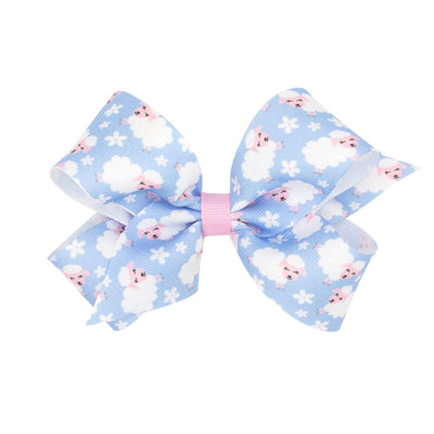 Sweet Lamb Grosgrain Bow Light Blue