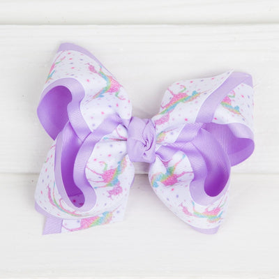 Unicorn Dream Bow Lavender