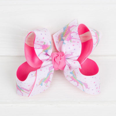 Unicorn Dream Bow Pink