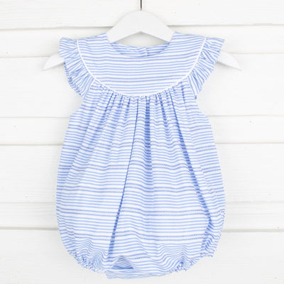 Lucy Bubble Blue Stripe