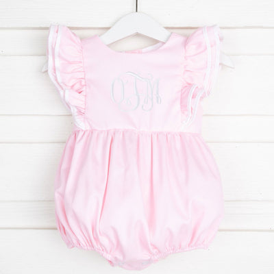 Ruffle Classic Bubble Light Pink Pique