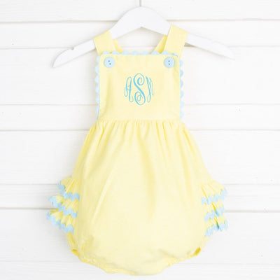 Sunshine Piper Bubble Yellow Chambray