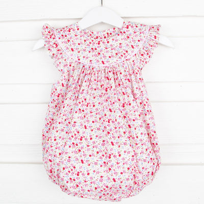 Tiny Floral Lucy Bubble White