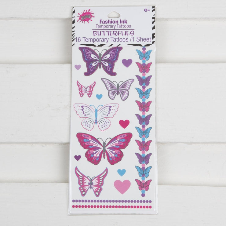 Butterfly Temporary Tattoos