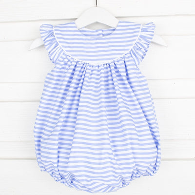 Cornflower Blue Stripe Lucy Bubble