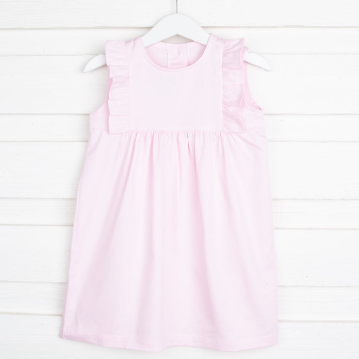 Baby Pink Kate Dress Pique