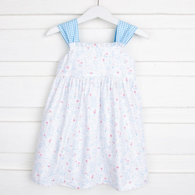 Sweet Kitty Stella Dress Turquoise