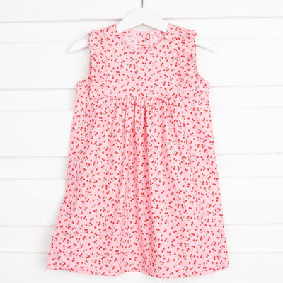 Cherry Kate Dress Pink
