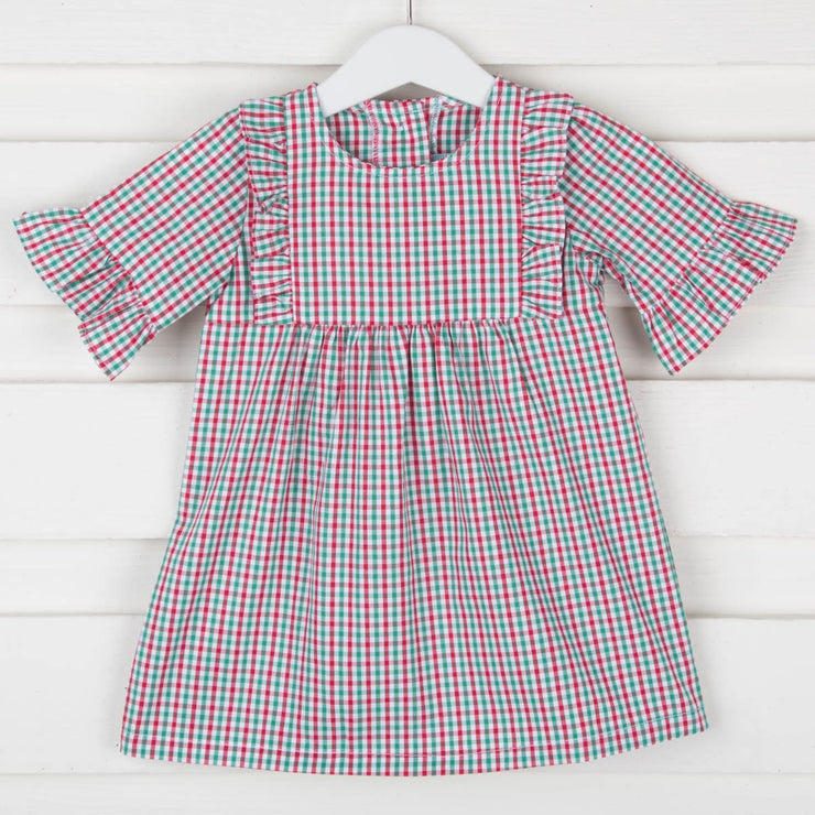 Christmas Gingham Olivia Dress