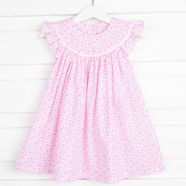 Dainty Floral Lucy Dress Pink