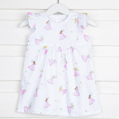 Fairy Fantasy Anna Dress White