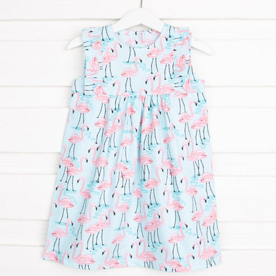 Flamingo Lake Kate Dress Aqua