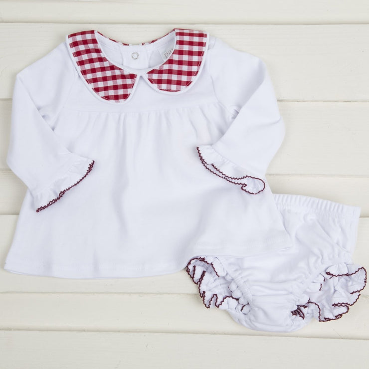 Long Sleeve Dress w Diaper Cover