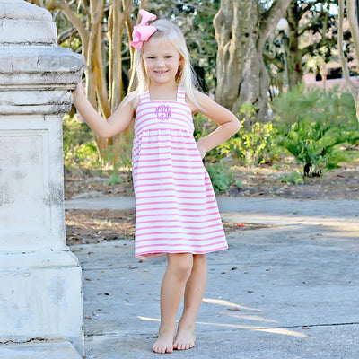 Pink Stripe Mia Dress