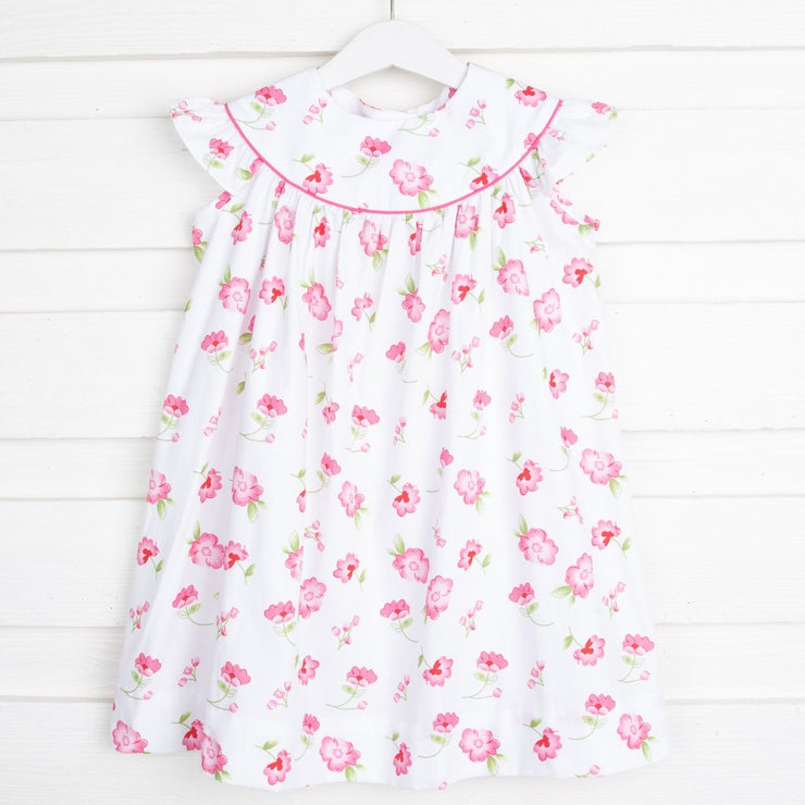 Posie Lucy Dress Pink and White
