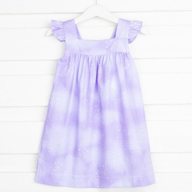 Starry Sky Amy Dress Lavender