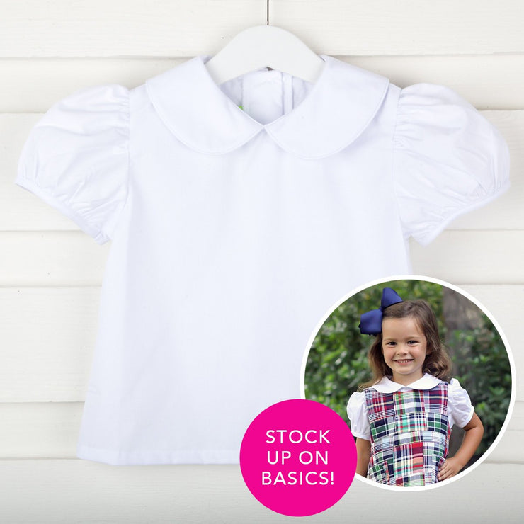 Girls Short Sleeve Undershirt