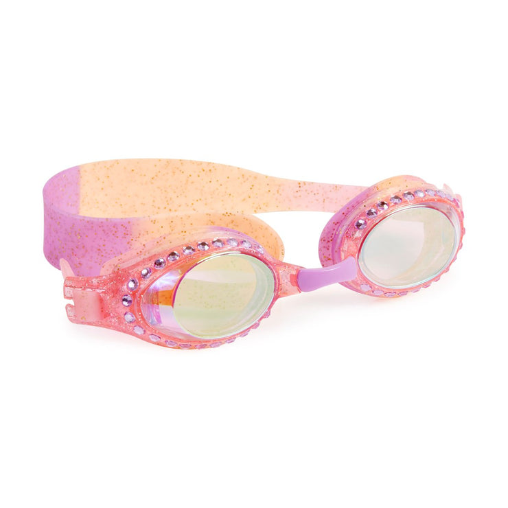 All That Glitters Turns To Gold Swim Goggles