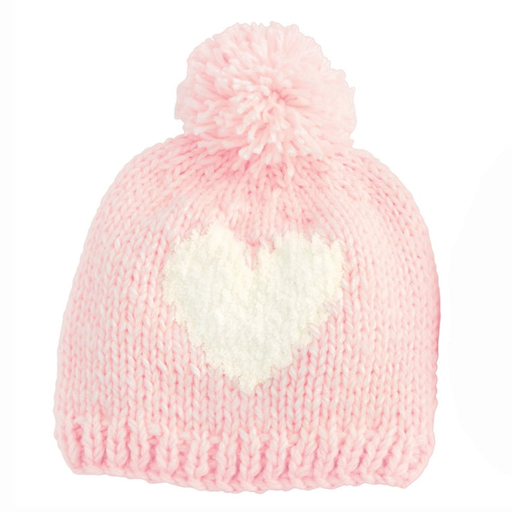 Heart Knit Hat