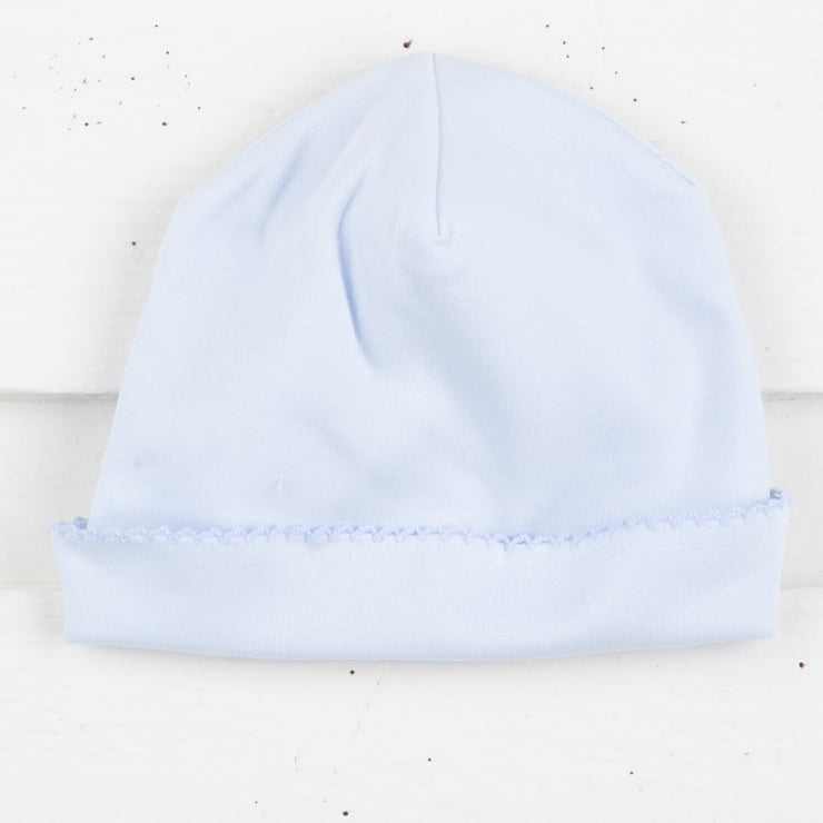Light Blue Knit Baby Cap