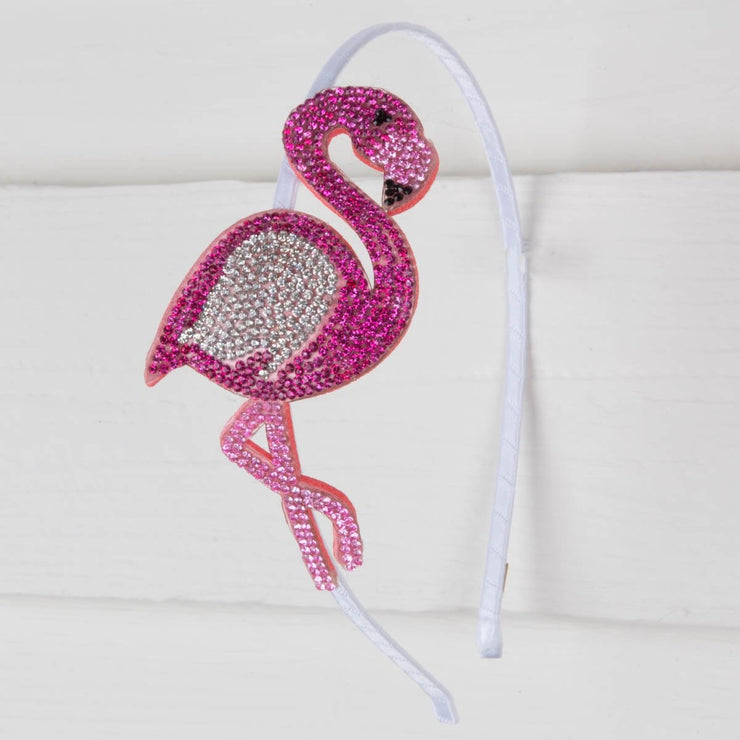 Crystallized Flamingo Headband