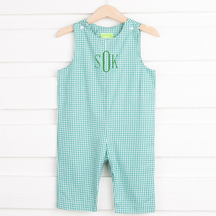 Grass Gingham Longall