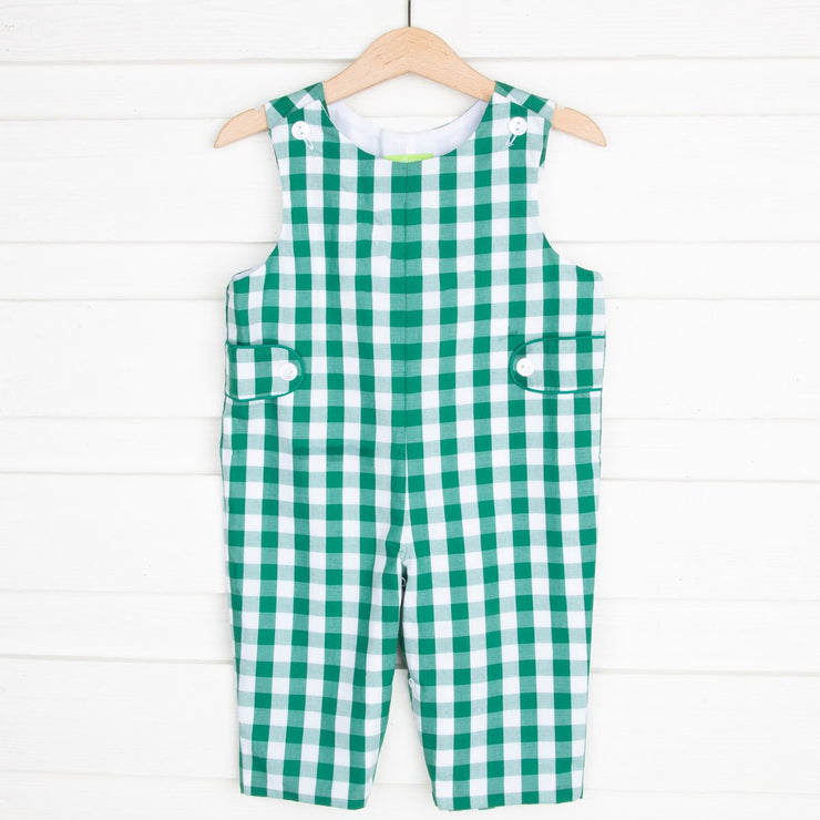 Longall with Tabs Green Check