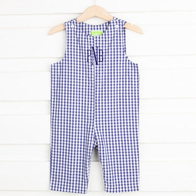 Oxford Blue Gingham Longall