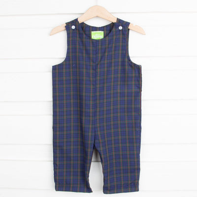 Royal and Green Plaid Longall