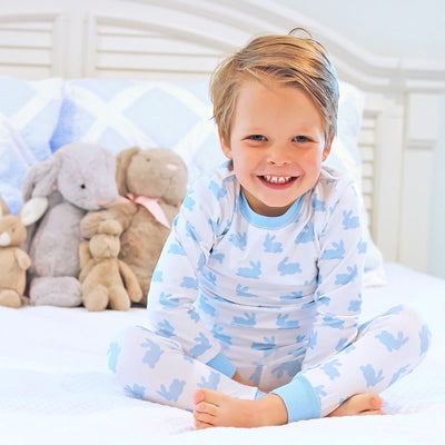 Blue Bunny Dreams Knit Loungewear
