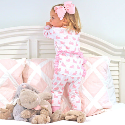 Bunny Dreams 1-Piece Knit Loungewear Pink