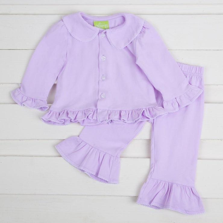Lavender Girls Menswear Loungewear Knit
