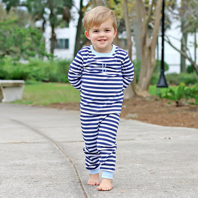Navy Stripe Loungewear