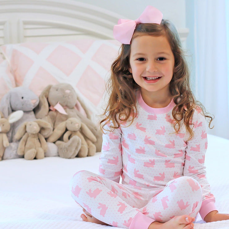 Pink Bunny Dreams Knit Loungewear