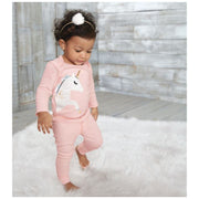 Unicorn Two Piece Set Light Pink