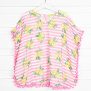 Lemon Print Cover Up