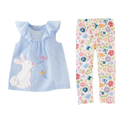 Bunny Tunic and Leggings Set