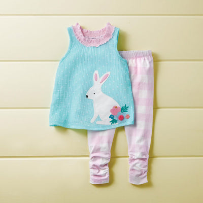 Gingham Bunny Legging Set