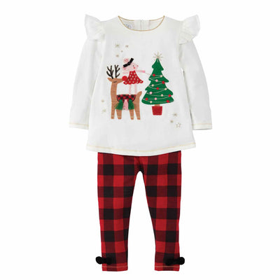 Reindeer Mouse Tunic and Legging Set