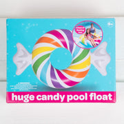Candy Swirl Pool Float