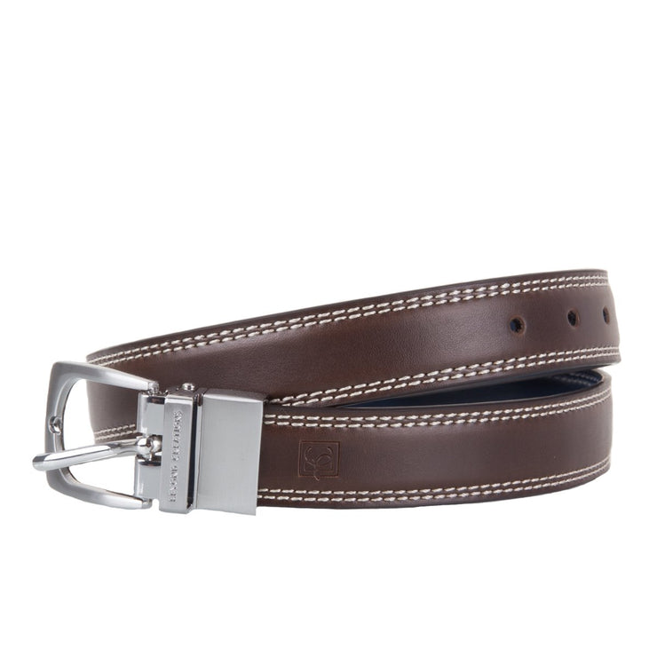 Reversible Brown and Navy Belt