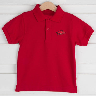 Arkansas Short Sleeve Polo
